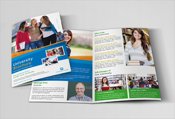 creative college brochure