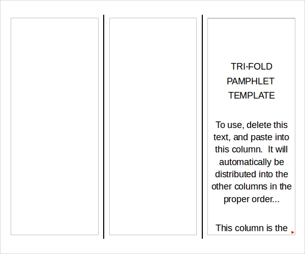 sample pamphlet template 6 documents download in pdf psd
