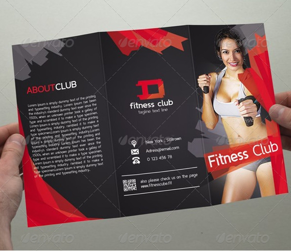perfect fitness center brochure