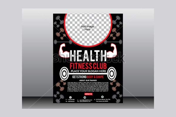 health fitness center brochure