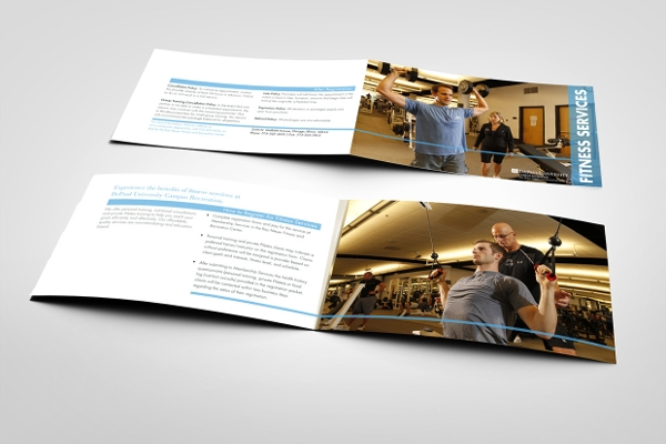 creative fitness ceter brochure