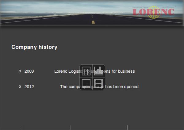 company history presentation template