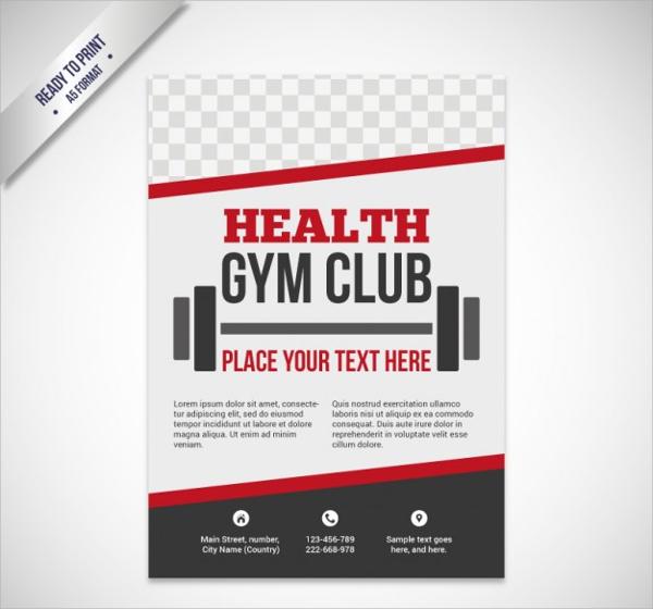 stunning fitness center brochure