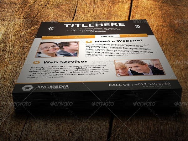 20+ Web Flyer Templates - Psd Format Download
