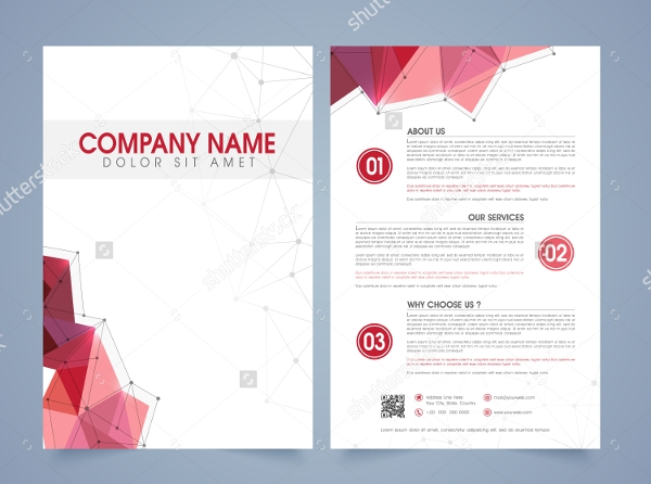 professional web flyer template