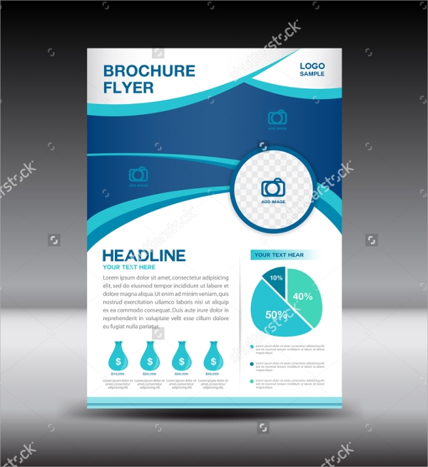 magazine ad web flyer template