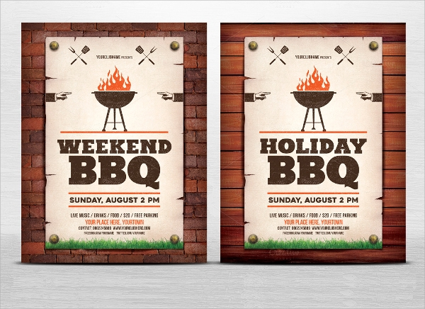 holiday web flyer template