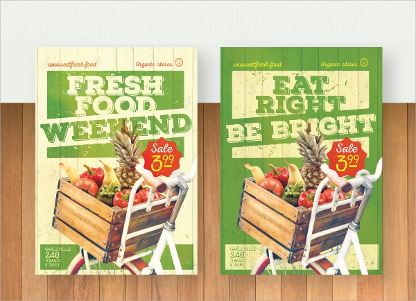 food web flyer template