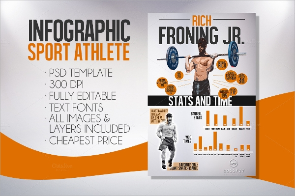 athletic event sports flyer