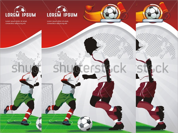 sports poster flyer template