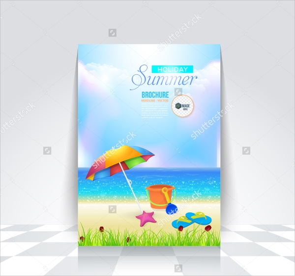 vacation and tourism brochure