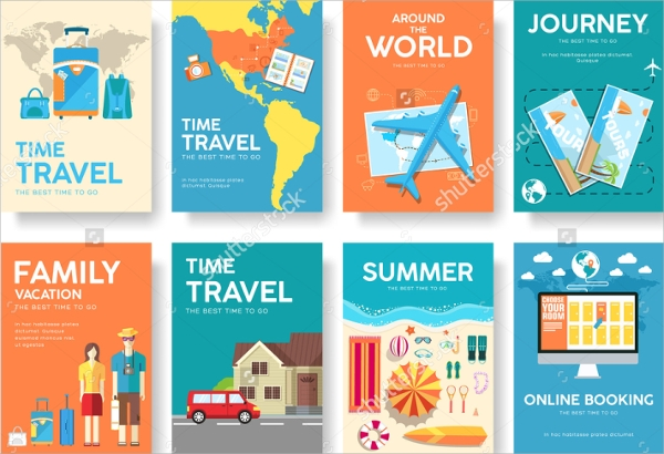 19Tourism Brochure EPS PSD Format Download – Tourism Brochure Template