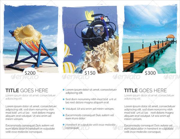wonderful tourism brochure