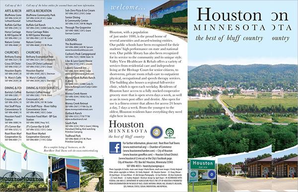 tourist brochure design2