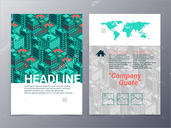 Architecture Brochure Templates  Psd Eps Illustrator Ai