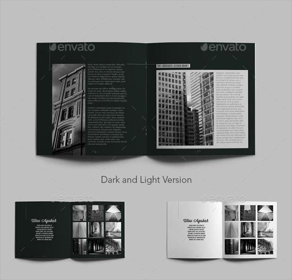 portfolio brochure template - 15 beautiful architecture brochure templates sample