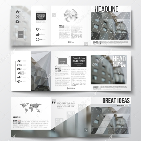Architecture Brochure Templates  Psd Eps Illustrator Ai Pdf