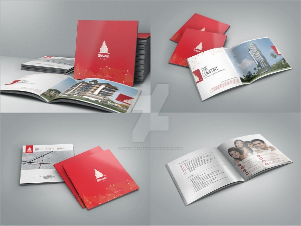 15 beautiful architecture brochure templates sample for Attractive brochure designs
