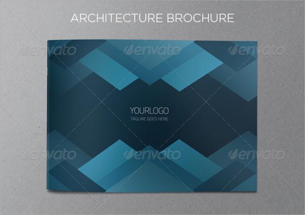 blue architecture brochure