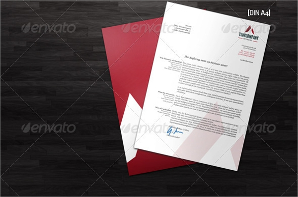 Letterhead Templates  Psd Format Download