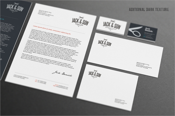 Psd Letterhead Template Corporate Letterhead Template Stationery