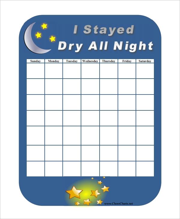 Star Chart Templates  Free Sample Example Format