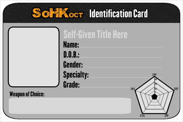 13 id card psd templates sample templates for Id badge template free