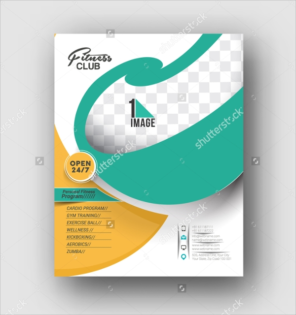 19 fitness brochure eps psd format download