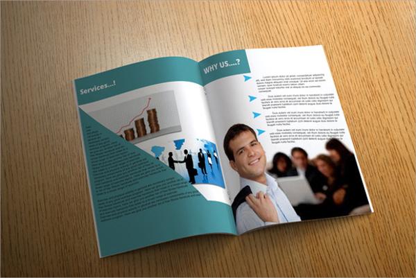 fitness club brochure template