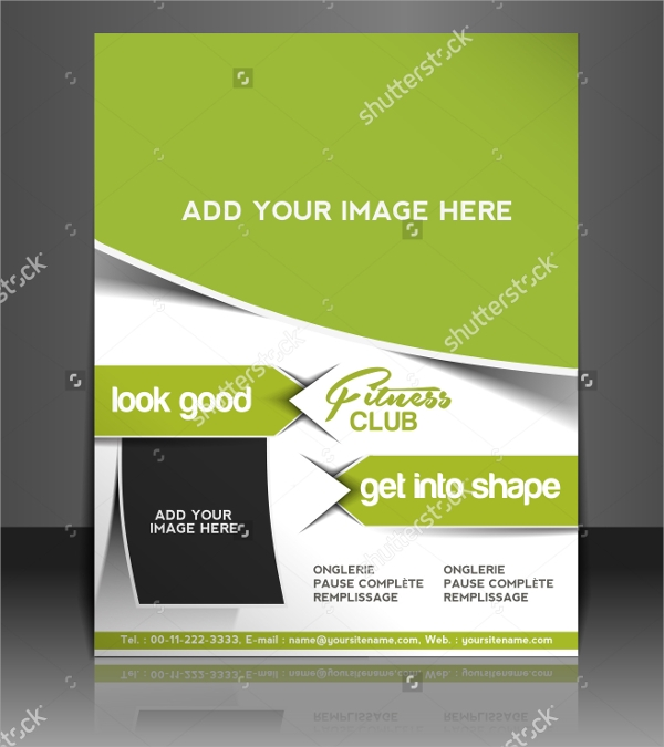 20 best fitness brochure templates sample templates for Training brochure template