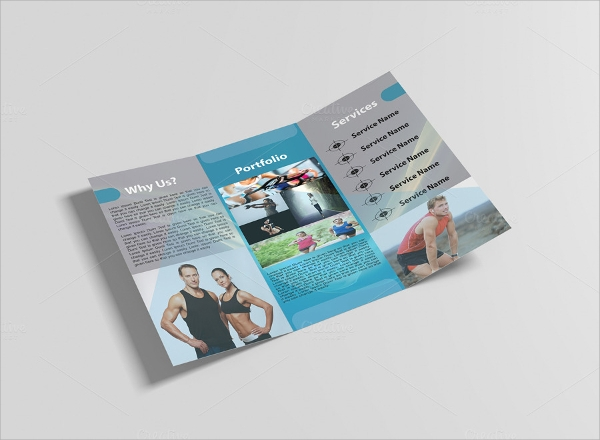 fitnasia gym fitness brochure