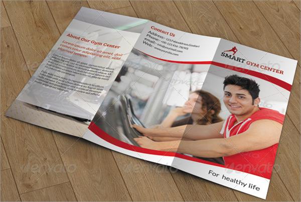 tri fold fitness brochure
