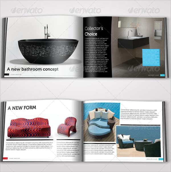 a5 clean brochure catalogue