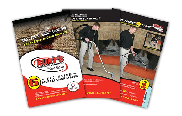 carpet cleaning brochure