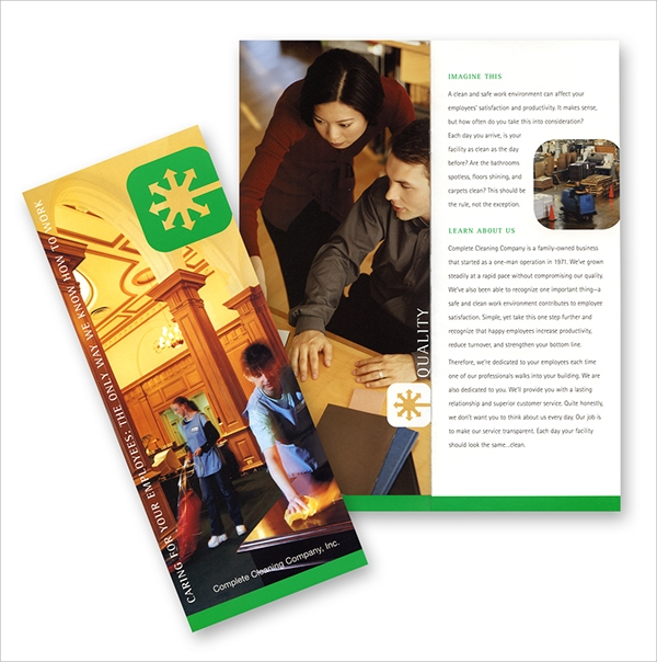 complete cleaning brochure