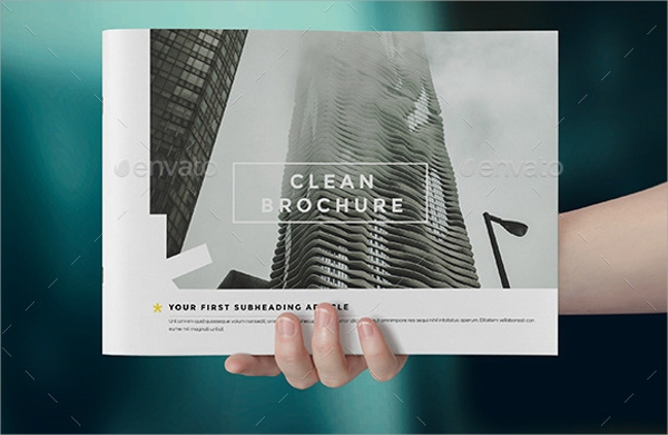 best cleaning brochure