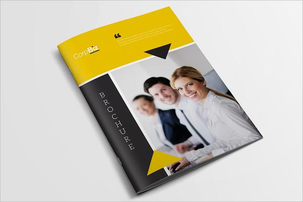 good clean brochure template
