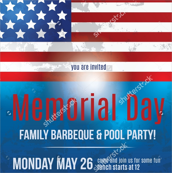 Memorial Day Flyers  Psd Vector Eps Format Download