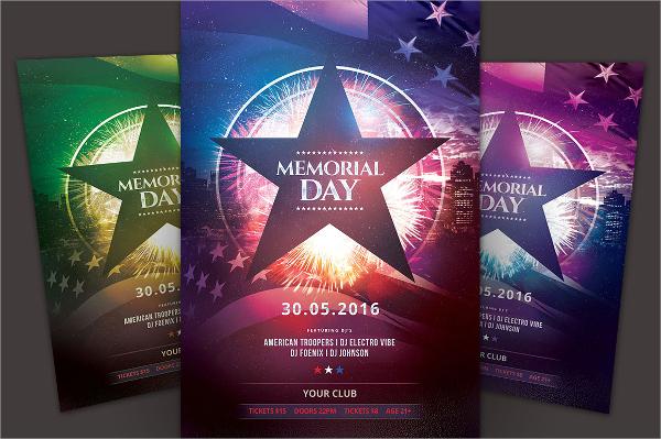 20  memorial day flyers