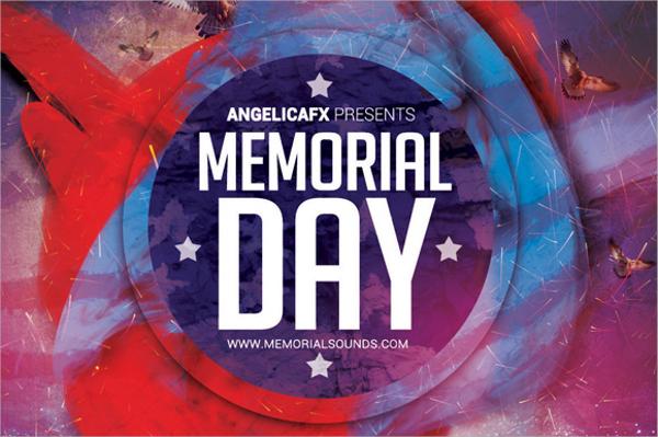 sample flyer template memorial day