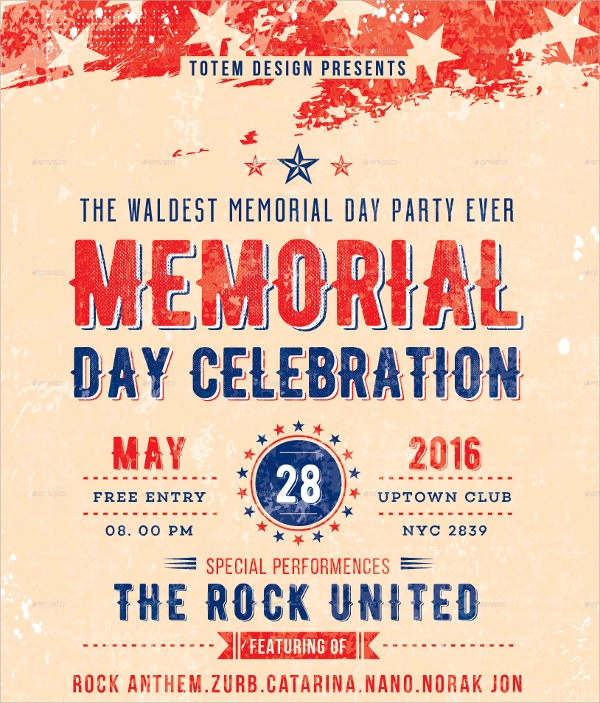 20+ Memorial Day Flyer Templates