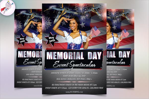 amazing memorial day flyer
