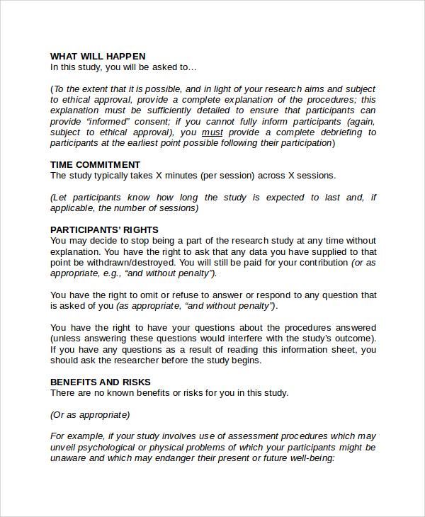 Psychology consent form consent form psychology template recent posts maxwellsz