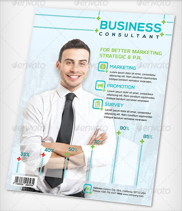 business campaign flyer template