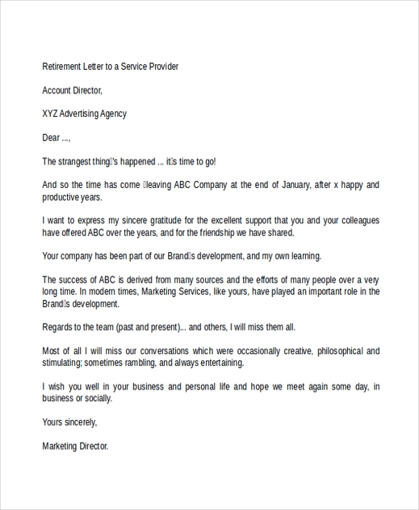 Announcement Letter  BesikEightyCo