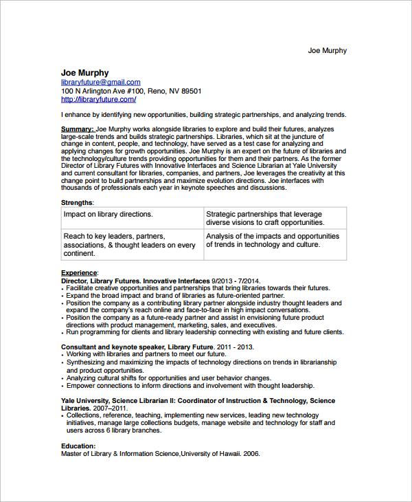 Medical Librarian Resume Sample Resumecompanion Com: Resume Writing Services Ventura Ca