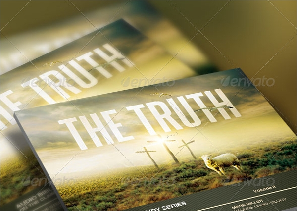 truth church flyer template