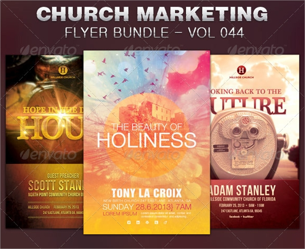 church marketing flyer template