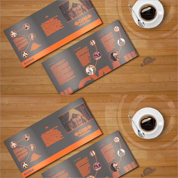 19 Gym Brochures PSD EPS Format Download – Gym Brochure