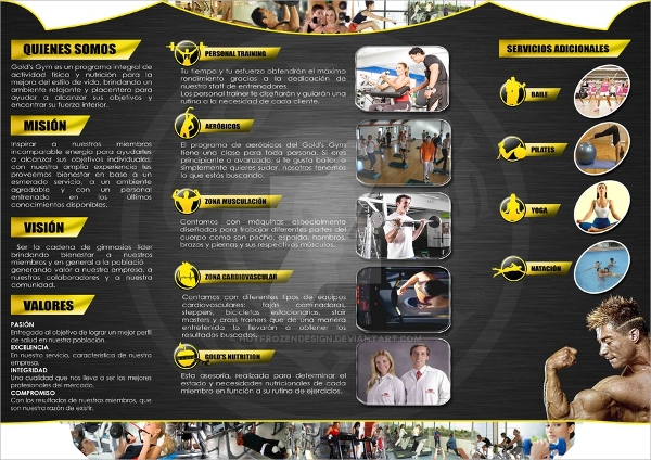 19 gym brochures psd eps format download for Gym layout design software free